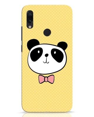 Shop Dressy Panda Xiaomi Redmi Note 7 Pro Mobile Cover-Front