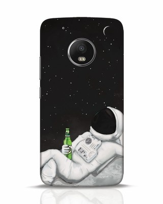 Shop Drinking Astronaut Moto G5 Plus Mobile Cover-Front