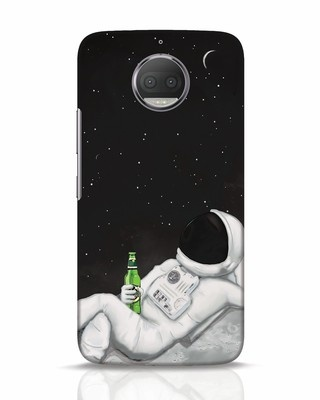 Shop Drinking Astronaut Moto G5s Plus Mobile Cover-Front