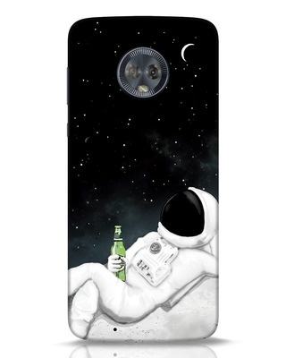 Shop Drinking Astronaut Moto G6 Mobile Cover-Front
