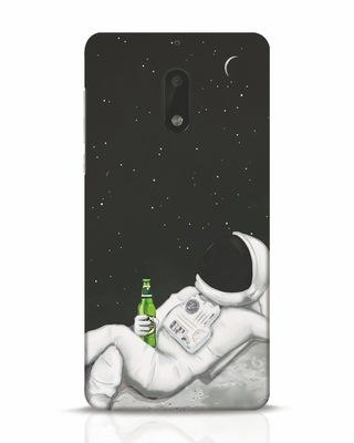 Shop Drinking Astronaut Nokia 6 Mobile Cover-Front