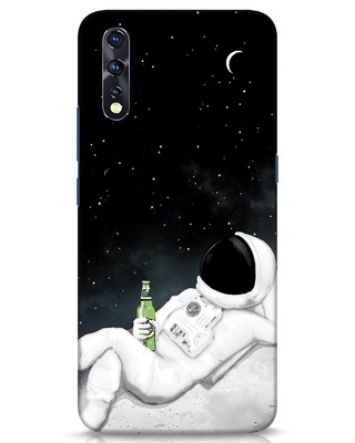 Shop Drinking Astronaut Vivo Z1x Mobile Cover-Front