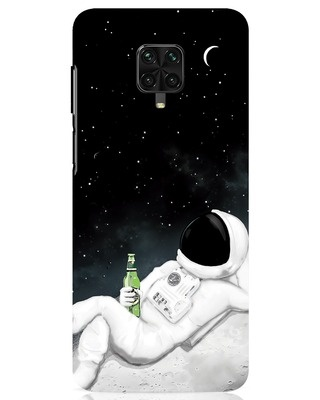 Shop Drinking Astronaut Xiaomi Poco M2 pro Mobile Cover-Front