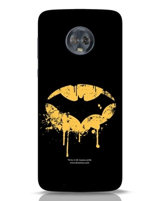 Shop Dripping Batman Moto G6 Mobile Cover (BML)-Front
