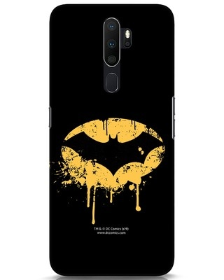 Shop Dripping Batman Oppo A5 2020 Mobile Cover (BML)-Front