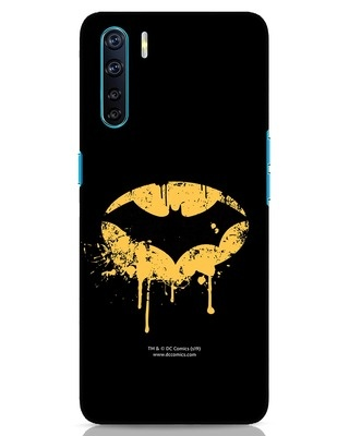 Shop Dripping Batman Oppo F15 Mobile Cover (BML)-Front