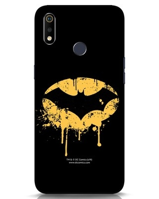 Shop Dripping Batman Realme 3i Mobile Cover (BML)-Front