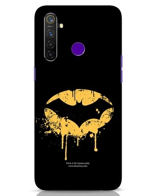 Shop Dripping Batman Realme 5 Pro Mobile Cover (BML)-Front