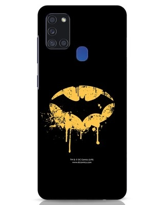 Shop Dripping Batman Samsung Galaxy A21s Mobile Cover (BML)-Front