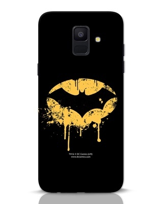 Shop Dripping Batman Samsung Galaxy A6 2018 Mobile Cover (BML)-Front