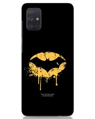 Shop Dripping Batman Samsung Galaxy A71 Mobile Cover (BML)-Front