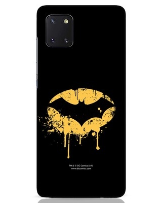 Shop Dripping Batman Samsung Galaxy Note 10 Lite Mobile Cover (BML)-Front