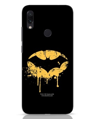 Shop Dripping Batman Xiaomi Redmi Note 7 Mobile Cover (BML)-Front