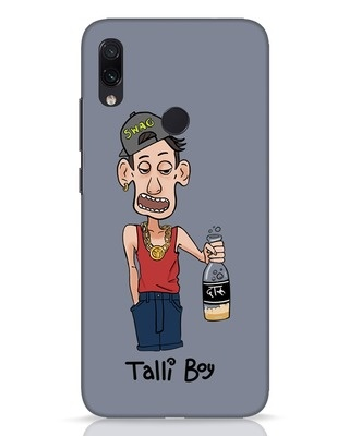 Shop Drunk Boy Xiaomi Redmi Note 7 Pro Mobile Cover-Front