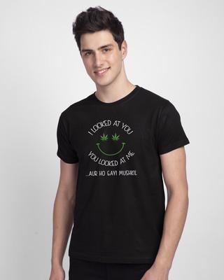 Shop Dus Bahaane Half Sleeve T-Shirt-Front