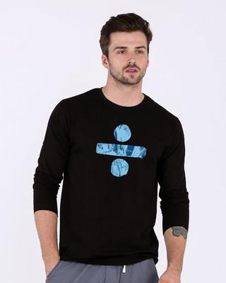 Shop Ed She Ran Full Sleeve T-Shirt-Front