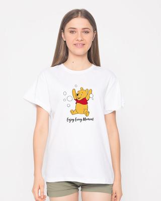Shop Enjoy Every Moment Boyfriend T-Shirt (DL)-Front