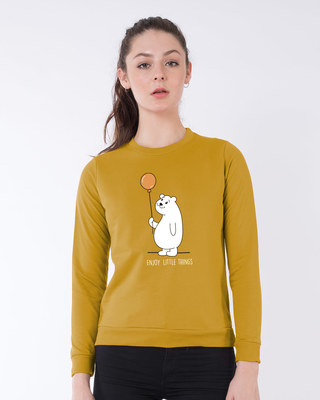 Shop Enjoy Little Things Sweatshirt-Front