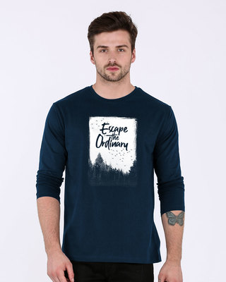 Shop Escape The Ordinary Full Sleeve T-Shirt-Front