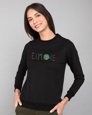 Shop Explore Colors Fleece Sweater-Front