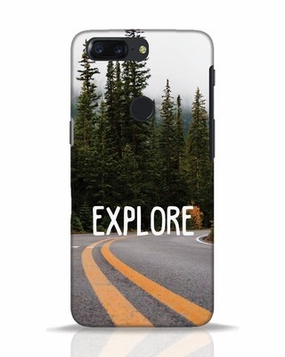 Shop Explore The Mountains OnePlus 5T Mobile Cover-Front