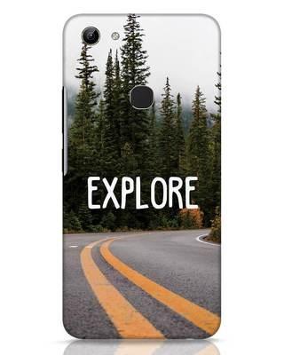 Shop Explore The Mountains Vivo Y81 Mobile Cover-Front