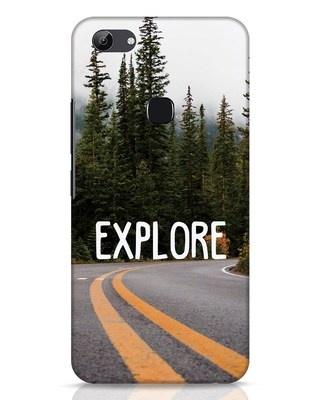 Shop Explore The Mountains Vivo Y83 Mobile Cover-Front