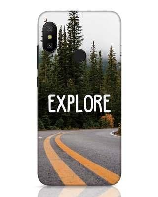 Shop Explore The Mountains Xiaomi Redmi 6 Pro Mobile Cover-Front