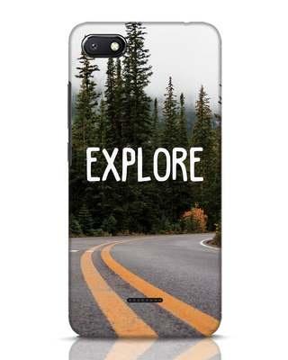 Shop Explore The Mountains Xiaomi Redmi 6A Mobile Cover-Front