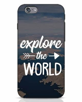 Shop Explore The World iPhone 6 Mobile Cover-Front