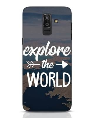 Shop Explore The World Samsung Galaxy J8 Mobile Cover-Front