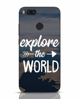 Shop Explore The World Xiaomi Mi A1 Mobile Cover-Front