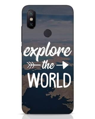 Shop Explore The World Xiaomi Mi A2 Mobile Cover-Front