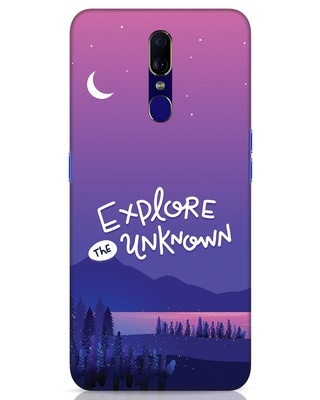Shop Explore Unknown Oppo F11 Mobile Cover-Front