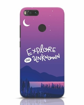 Shop Explore Unknown Xiaomi Mi A1 Mobile Cover-Front