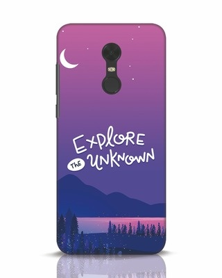 Shop Explore Unknown Xiaomi Redmi Note 5 Mobile Cover-Front