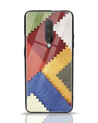 Shop Fabric Feels Samsung Galaxy A50 Glass Mobile Cover-Front