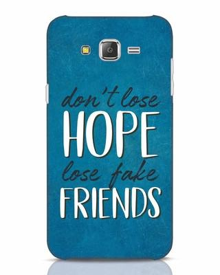 Shop Fake Friends Samsung Galaxy J7 Mobile Cover-Front