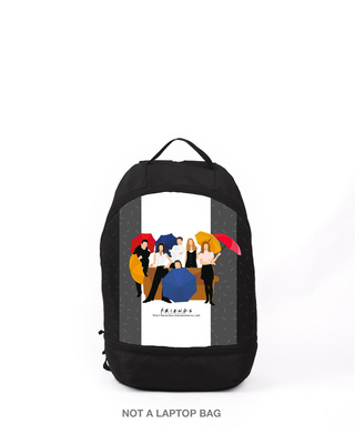 Shop Family  Printed Small Backpack (FRL) -Front