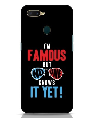 Shop Famous Oppo A7 Mobile Cover-Front