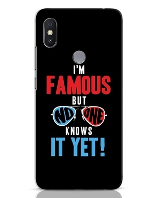 Shop Famous Xiaomi Redmi Y2 Mobile Cover-Front