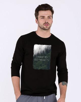 Shop Far Away Full Sleeve T-Shirt-Front
