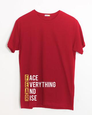 Shop Fear Half Sleeve T-Shirt-Front