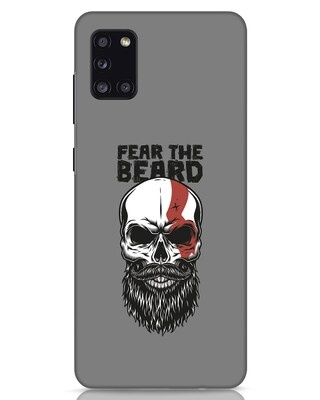 Shop Fear The Beard Samsung Galaxy A31 Mobile Cover-Front