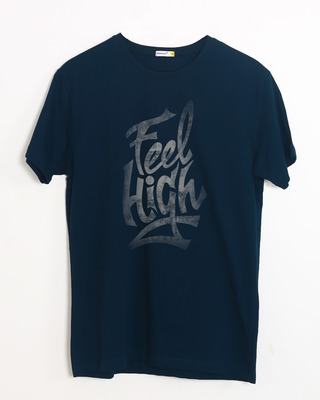 Shop Feel High Half Sleeve T-Shirt-Front