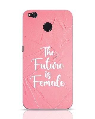 Shop Female Future Xiaomi Redmi 4 Mobile Cover-Front