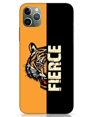 Shop Fierce Tiger iPhone 11 Pro Max Mobile Cover-Front
