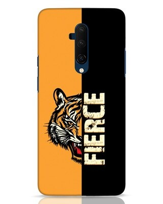 Shop Fierce Tiger OnePlus 7T Pro Mobile Cover-Front