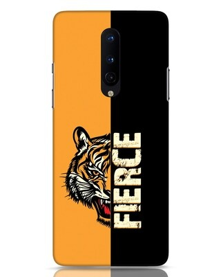 Shop Fierce Tiger OnePlus 8 Mobile Cover-Front