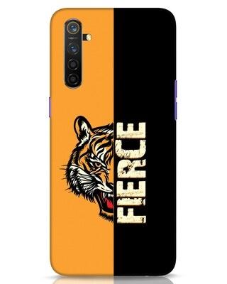 Shop Fierce Tiger Realme 6 Mobile Cover-Front